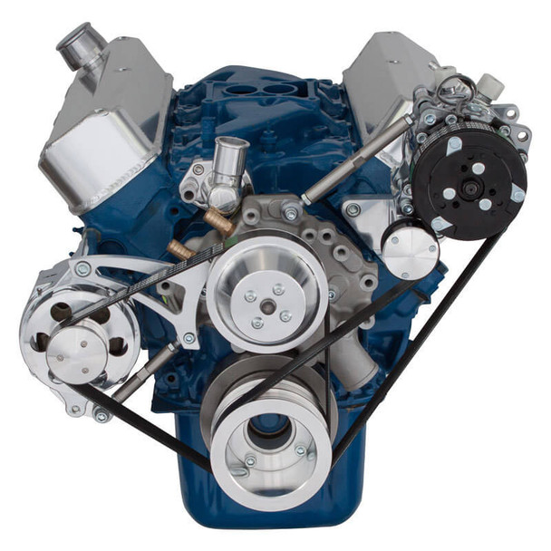 Ford 289-302-351W Serpentine Conversion Kit - Alternator & A/C