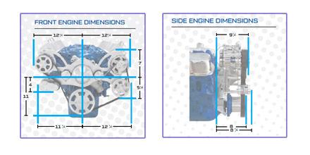 Black Serpentine Conversion Kit for Big Block Ford 429 460 with AC on delco remy alternator diagram, fuel pump wiring diagram, delco radio wiring diagram, gm alternator diagram, gm internal regulator wiring diagram, cs130 wiring diagram for street rod, alternator components diagram, hi bird 4 wheeler wiring diagram, chevrolet alternator diagram, 4 wire alternator diagram,