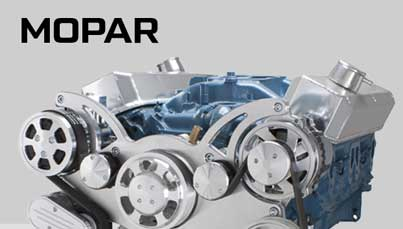 Chrysler Mopar Serpentine Kits, V-Belt Kits and Engine Accessories