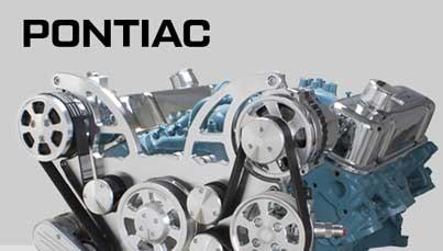 Pontiac Serpentine Kits, V-Belt Kits and Engine Accessories
