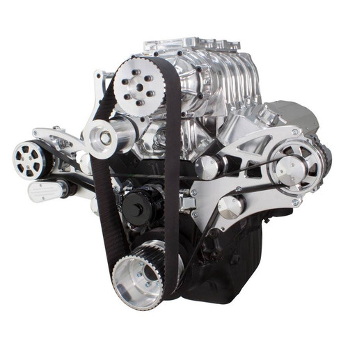 Big Blower Supercharger: Serpentine Conversion Kit For Big Block Chevy 396, 427