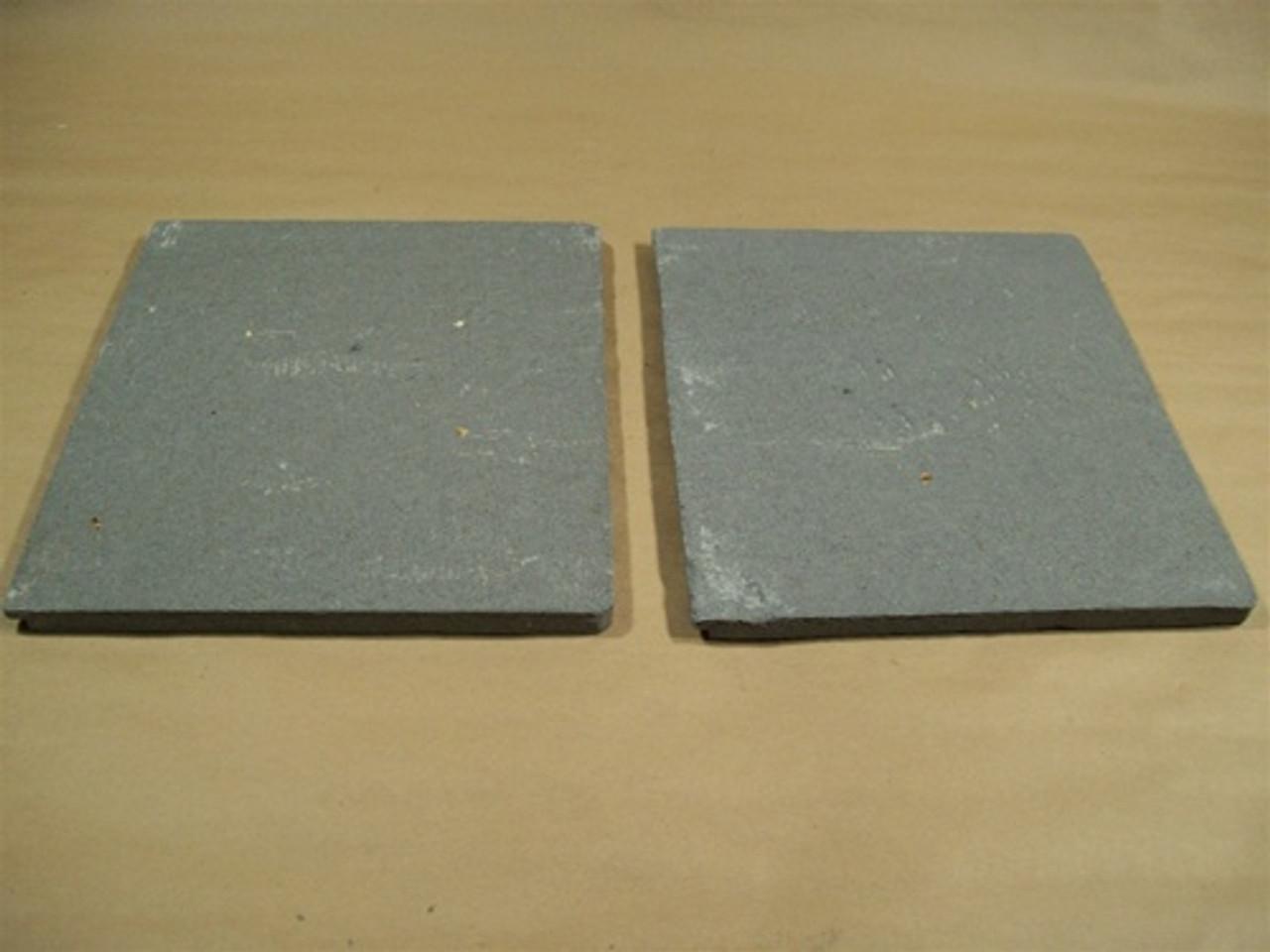 Replacement Enviro And Vista Flame Ceramic Baffles L R