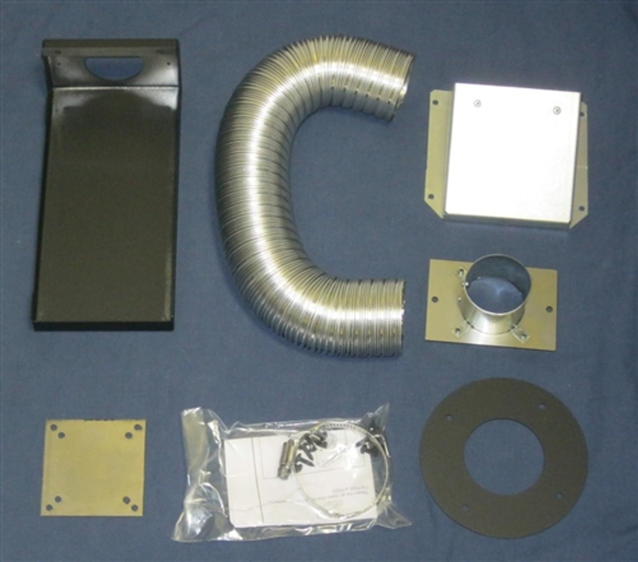 Outside Air Kit Rear Mount For Quadrafire And Heatilator