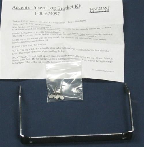 Harman Accentra Insert Amp P35i Log Bracket Kit 1 00 674097