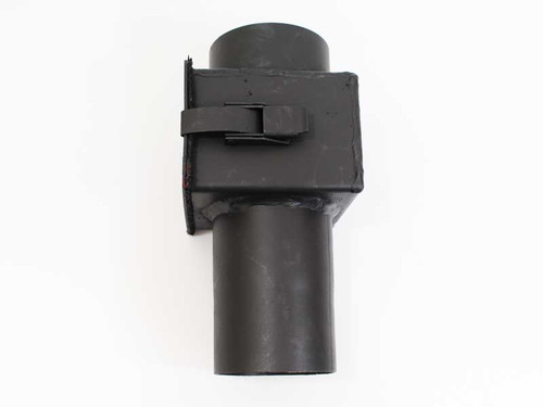 Rear Vent Adapter W Cleanout For Quadrafire Pellet