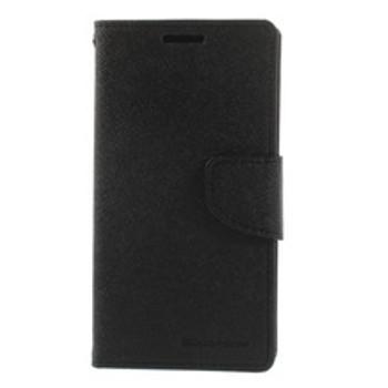 For Htc M7 Mercury Fancy Diary Case Black