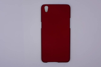 For Oppo F1 Plus Rubber Case Red