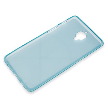 For One Plus 3 Rubber Case Blue