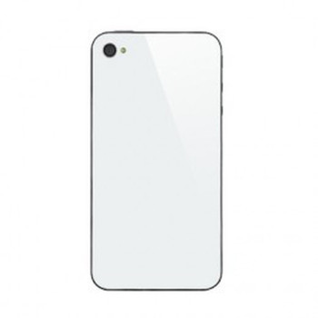 For iphone 4 back cover white