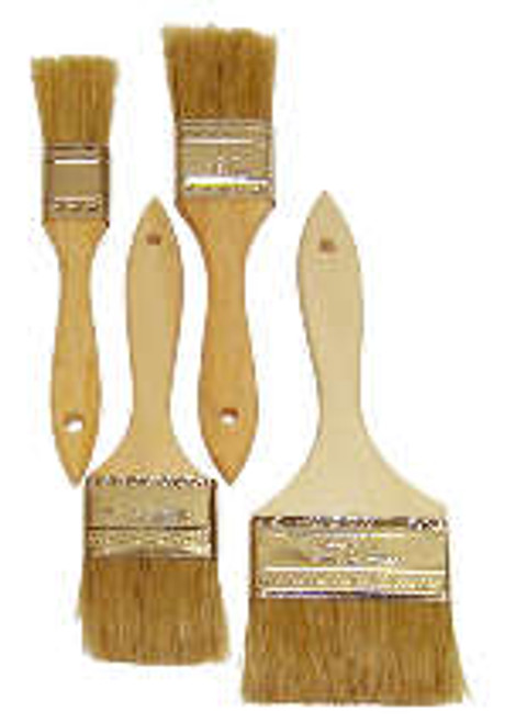 "4"" Imported Chip Brush / Wooden Handle"