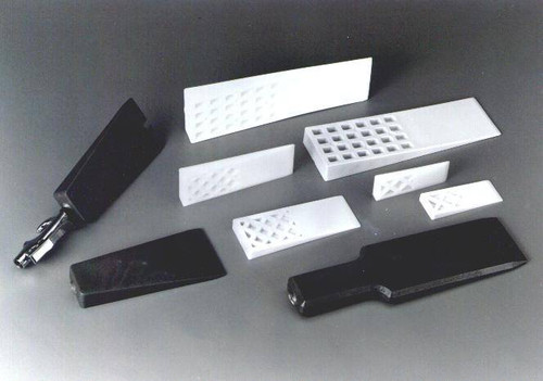 "2-1/4""W x 6""L Rigid Plastic Mold Release Wedge"