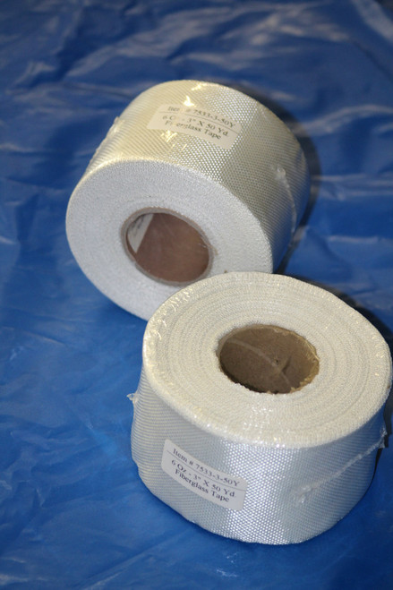 "6oz x 3"" wide Fiberglass Cloth Tape ( 50 yards )"