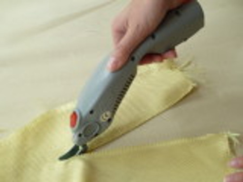 WBT-1 Electric Scissors cutting Kevlar