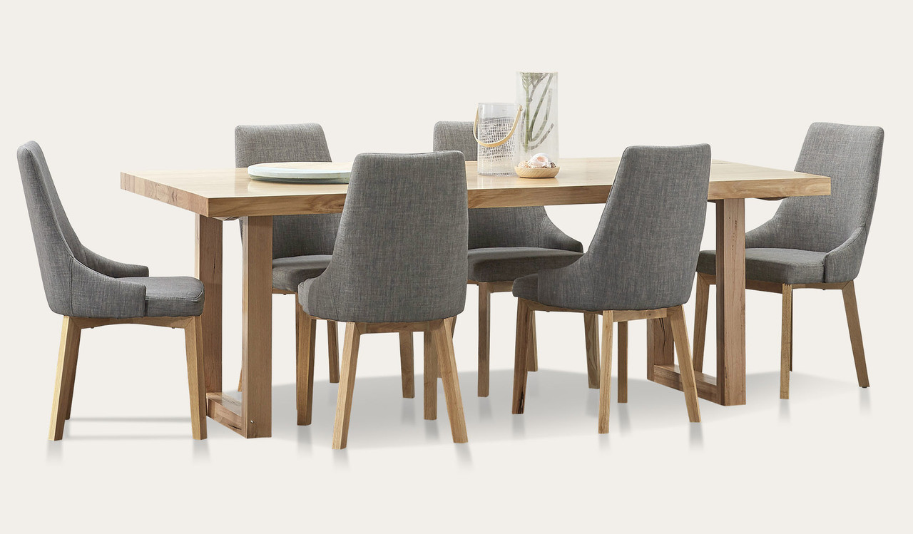 Kennedy Dining Suite With Benson Chairs Focus On Furniture