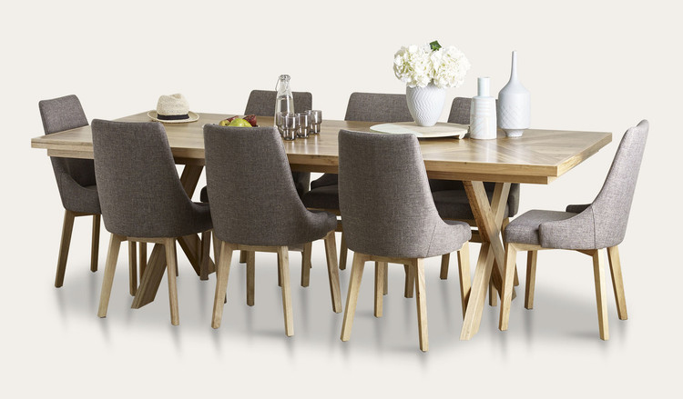 Orbost dining suite with Benson chairs | Tuggl