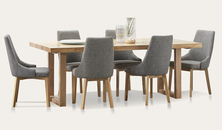 Kennedy dining suite with Benson chairs | Tuggl