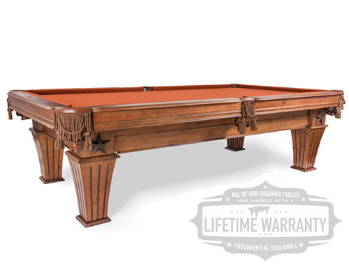 New Presidential Billiards Brittany Pool Table For Sale?