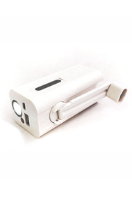 Dynamo hand crank charger with light