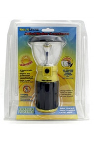 Solar powered + hand crank lantern