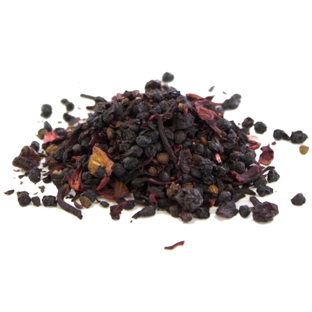 Organic Elderberry Hibiscus Loose Leaf Tea