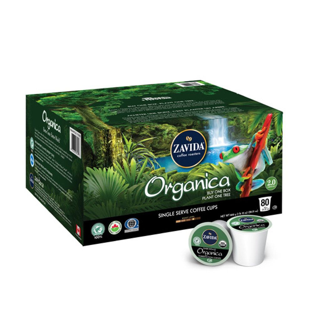 Wholesale Organica Single Serve Coffee Cups - 80ct