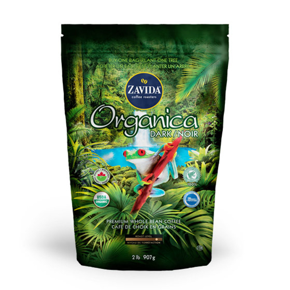Wholesale Organica Dark Roast Rainforest Alliance Coffee