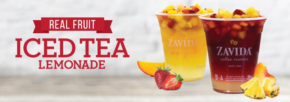Keep Cool with Real Fruit Iced Tea Lemonade