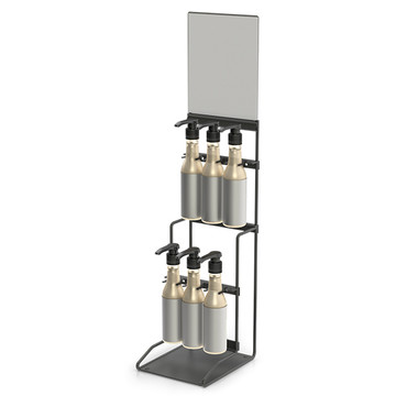 6 Bottle Floating Stand