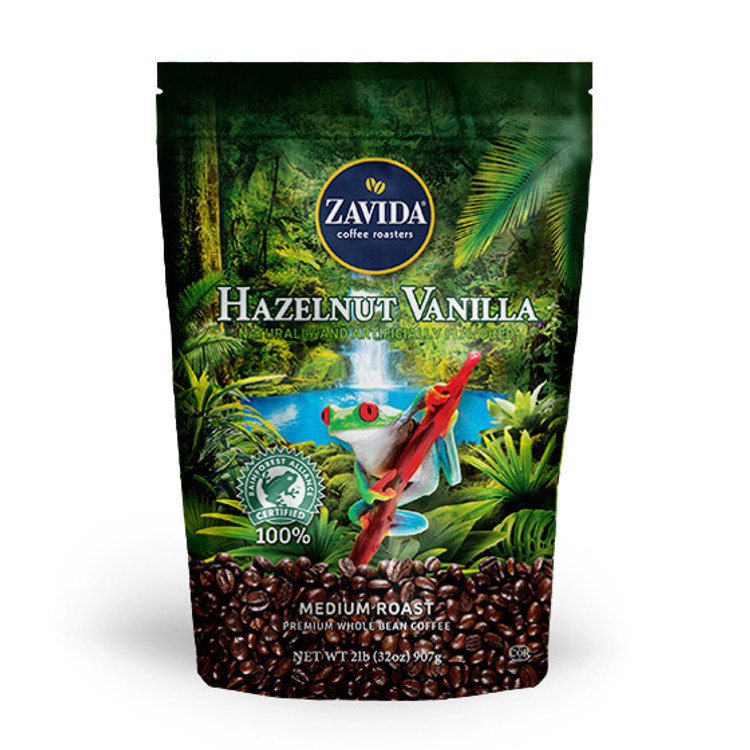 Wholesale Hazelnut Vanilla Rainforest Alliance Coffee