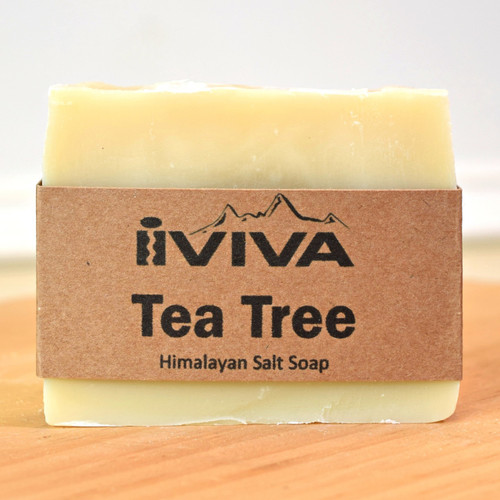 Tea Tree Salt Soap Iviva