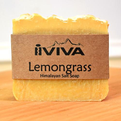 Lemongrass Salt Soap