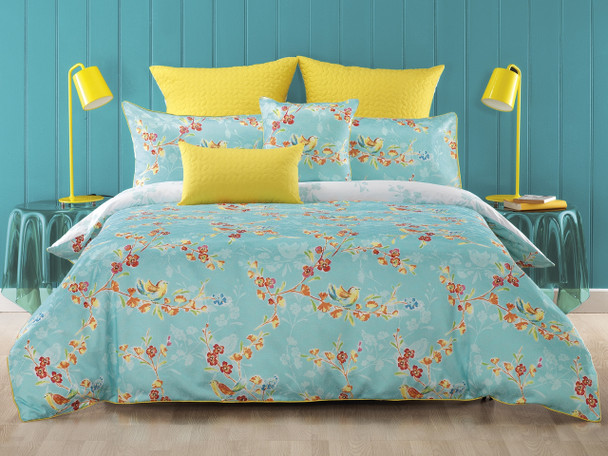 Bianca Akasha 3 Pce Queen Quilt Cover Set