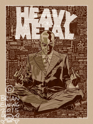 HEAVY METAL GRANT MORRISON VARIANT A/P