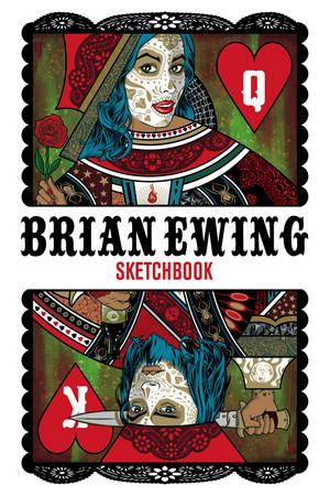 """2012 BRIAN EWING SKETCHBOOK"" PDF"