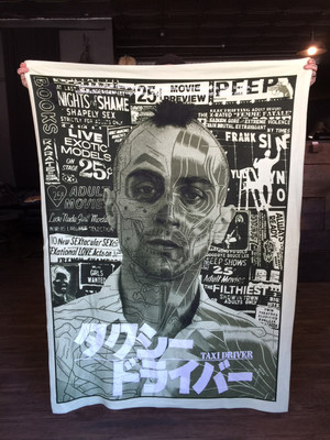 TAXI DRIVER BLANKET