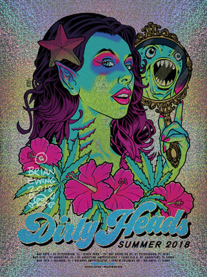 """   DIRTY HEADS"" 2018 FOIL VARIANT"