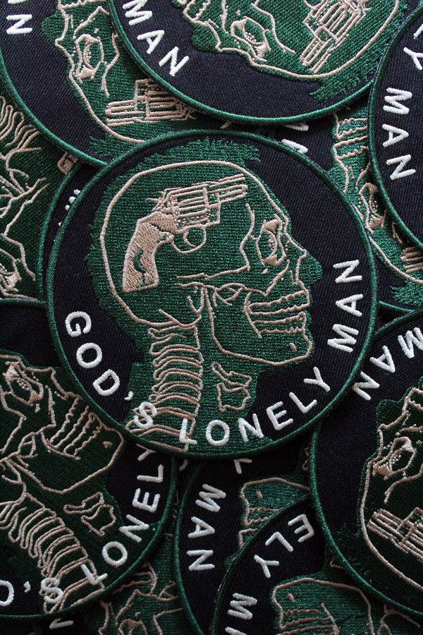 """""""   God's Lonely Man"""" Patch"""