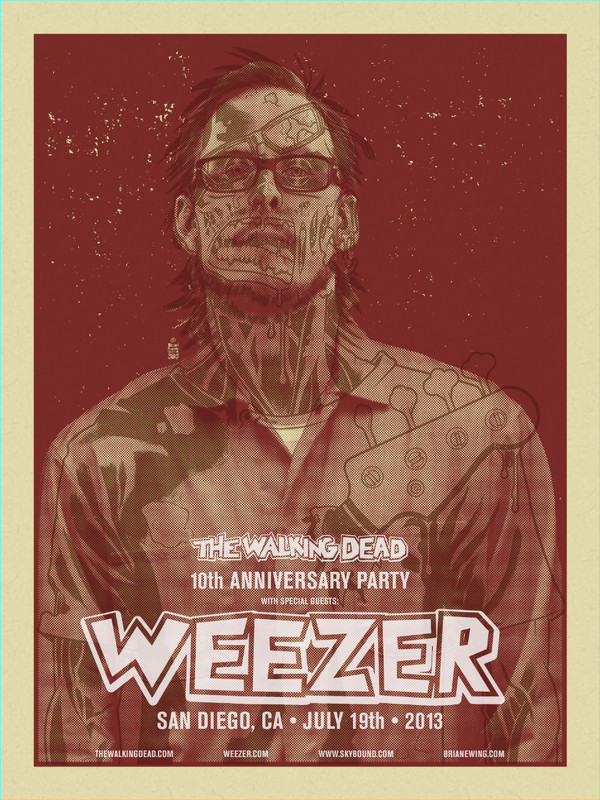WEEZER WALKING DEAD ORIGINALS