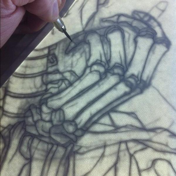 MORRISSEY / FRIDA KAHLO ORIGINAL ART
