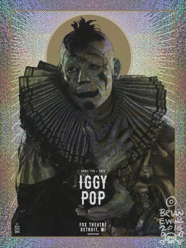 """IGGY POP FOIL regular"" AP"