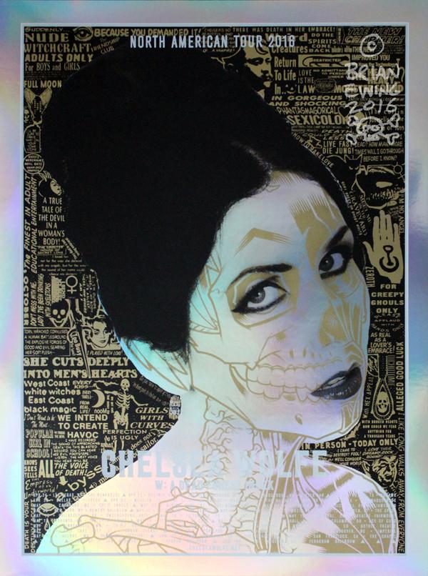 """""""Chelsea Wolfe Mirror Foil"""""""