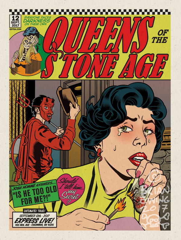""""""" QUEENS OF THE STONE AGE"""" 6 - pulp variant"""