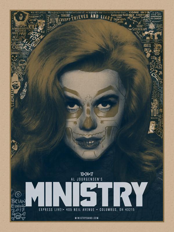 """""""   MINISTRY"""" PULP VARIANT"""