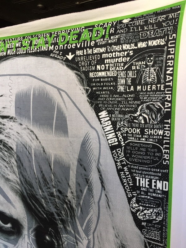"""Night of The Living Dead"" Blanket"