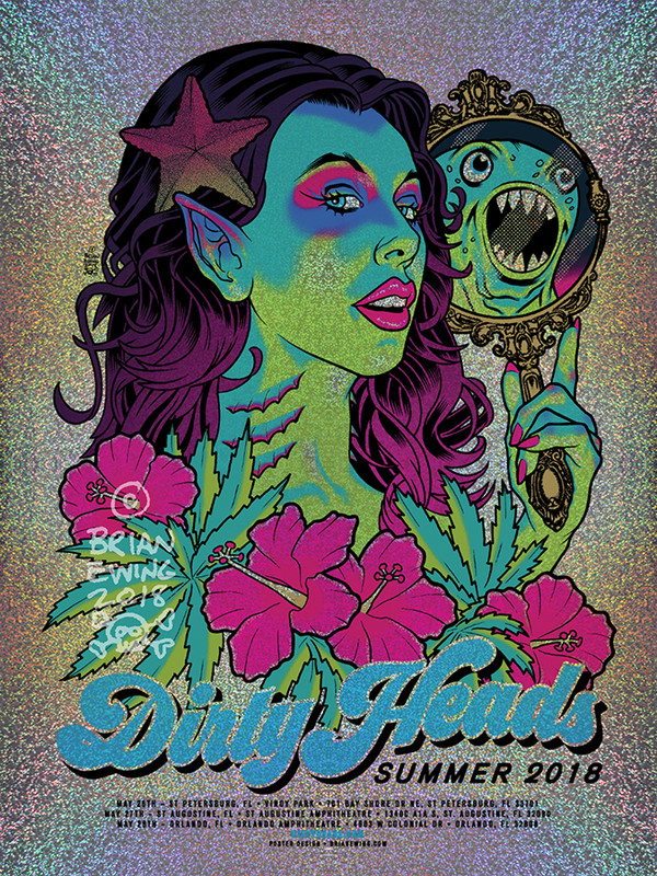 """""""   DIRTY HEADS"""" 2018 FOIL VARIANT"""