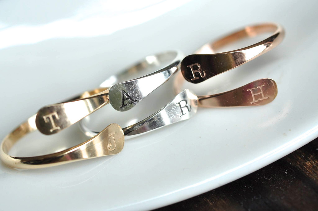 adjustable custom initial rings - muyinjewelry.com