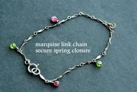 custom mother's / grandmother's birthstone charm bracelet