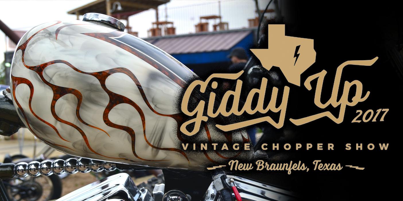 Giddy Up Vintage Chopper Show 2016