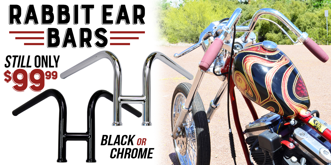 Throttle Addiction Rabbit Ear Handlebars