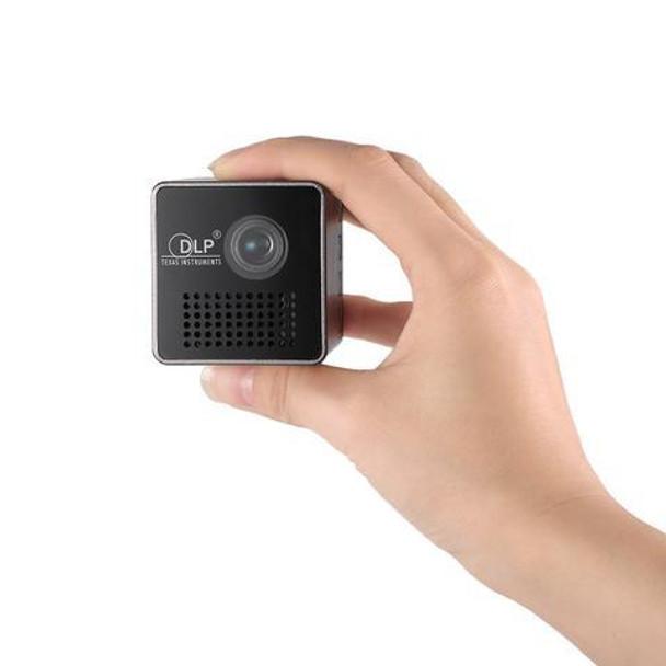 UNIC P1+ Mini LED Portable 30 Lumens DLP Home Movie Theater Projector